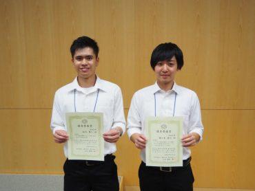 (左から)相川慧人さんと佐々木優介さん